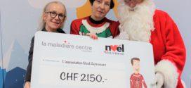 La Maladière Centre - Remise chèque Noël Autrement